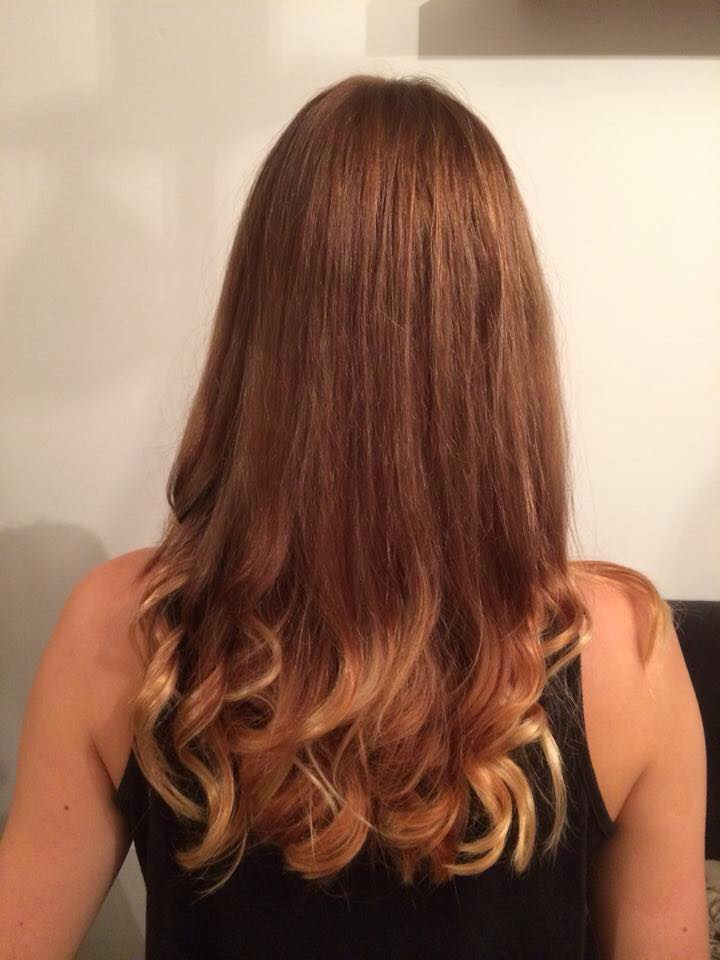 long highlighted ends